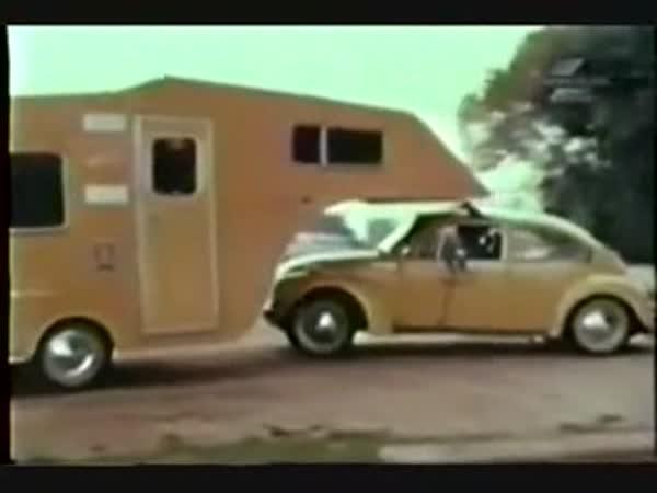 Volkswagen Beetle - Obytný přívěz
