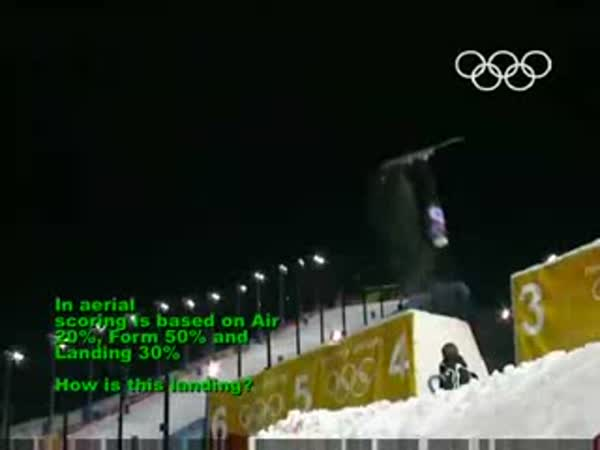 Zimní olympijské hry - nehody [kompilace]