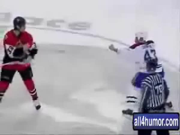NHL - Nejzajímavější bitka v dějinách