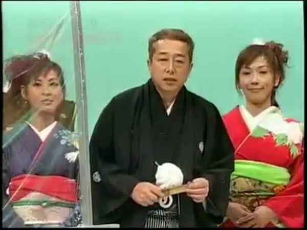 Japonská soutěž - Chceš vidět dívku?