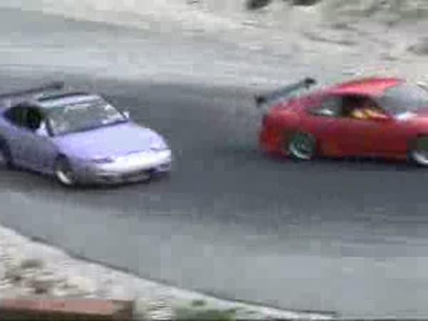 Nádherný dvojitý drift