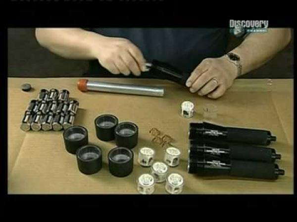 Jak se dělají svítící baterky