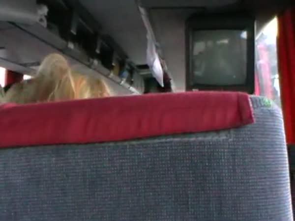 Řidič českého autobusu zkolaboval