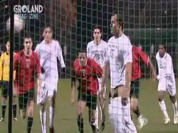 Fotbal - Nejvtipnější gól
