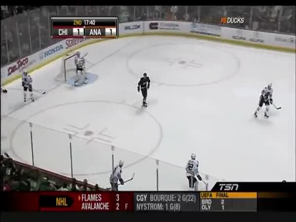 NHL - Rychlá pomsta za hit