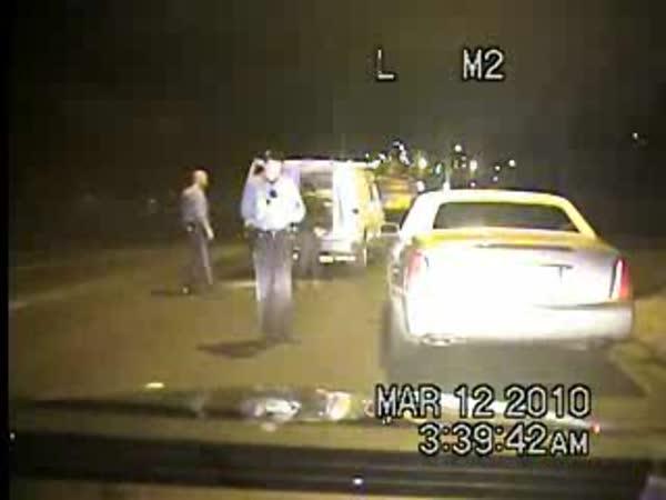 Policejní kontrola a následná nehoda