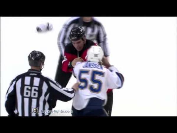 NHL - Bitka - Janssen vs. Letourneau-Leblond