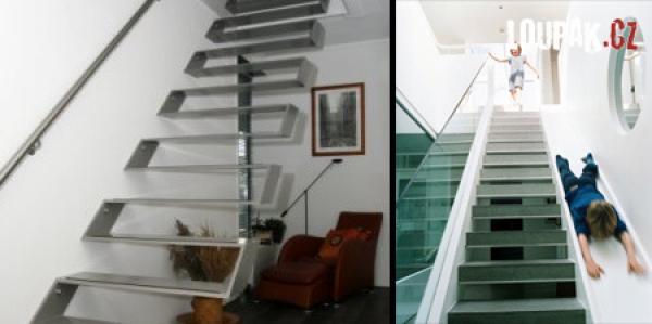 OBRÁZKY - Originální schody 2.díl