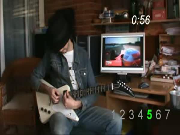 Elektrická kytara a Formule 1