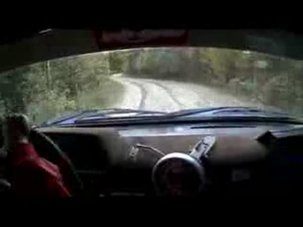 Rally - 8-letý jezdec