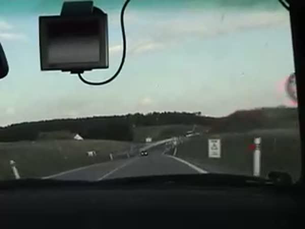 Idiot na české silnici