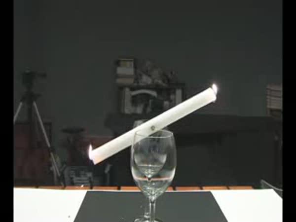 Zajímavý trik se svíčkou
