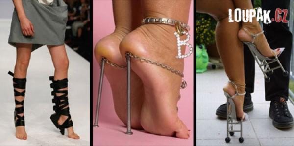OBRÁZKY - Originální boty pro ženy
