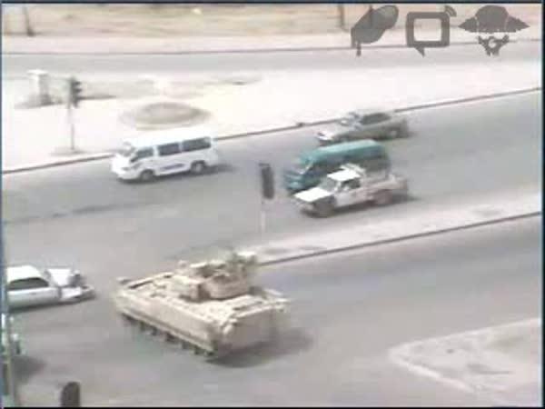 Irák - Když tank nedá přednost