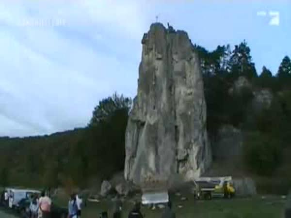 Borec - Šílený skok ze 46 metrů
