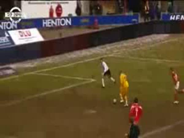 Fotbal - Originální oslava gólu