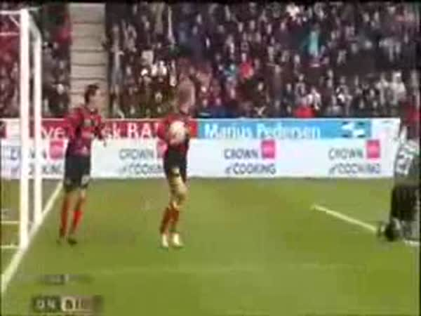 Fotbal - Originální oslava gólu 2.