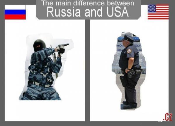 OBRÁZKY - Rusko vs. USA