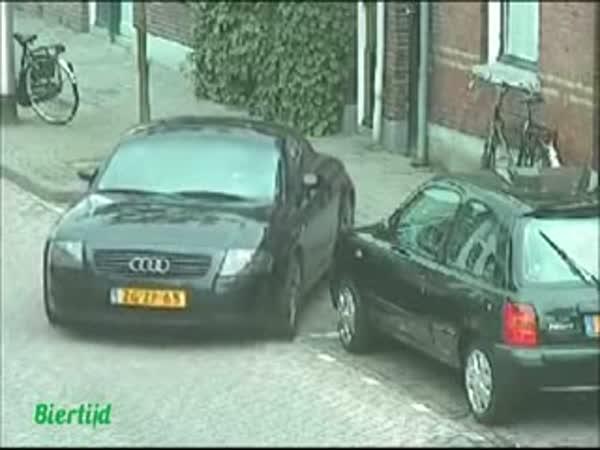 Audi TT - Problémy s parkováním