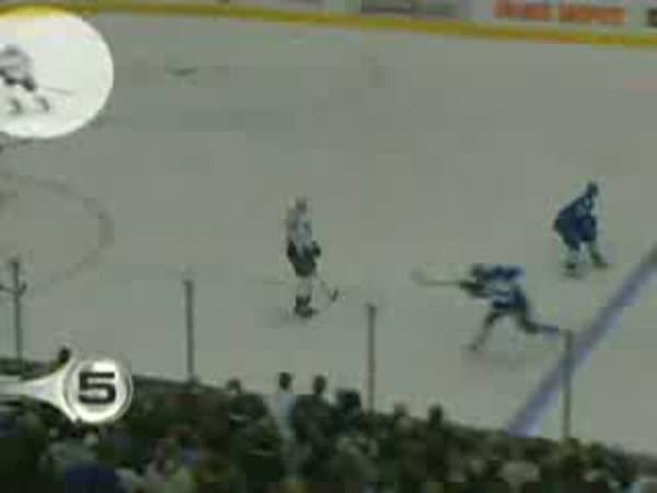 TOP 10 - Hokej - Netradiční góly
