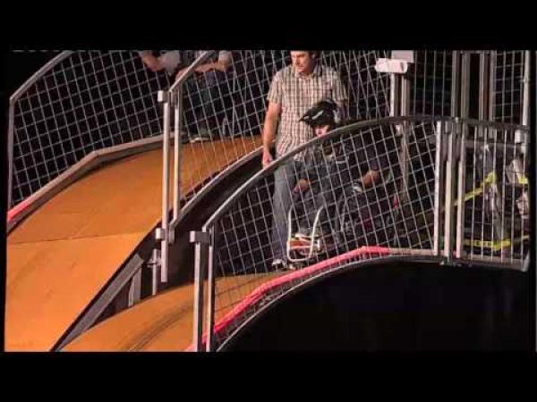 Borec - Backflip na invalidním vozíku