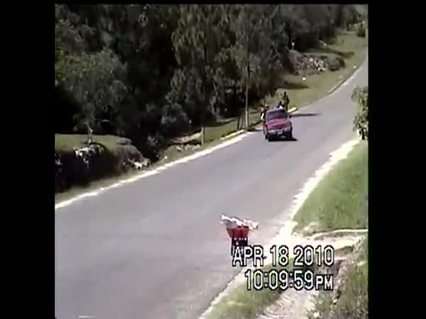 Tragická dopravní nehoda - Pickup