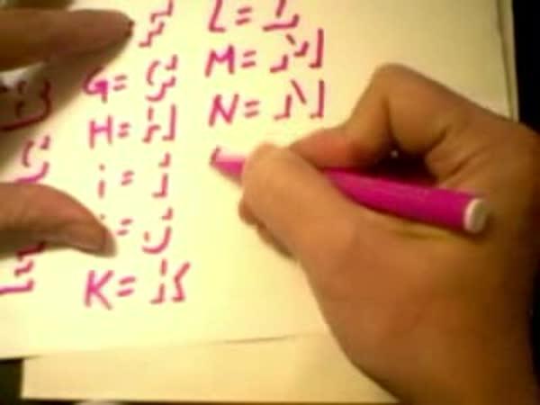 NÁVOD - Jak napsat 3D písmena