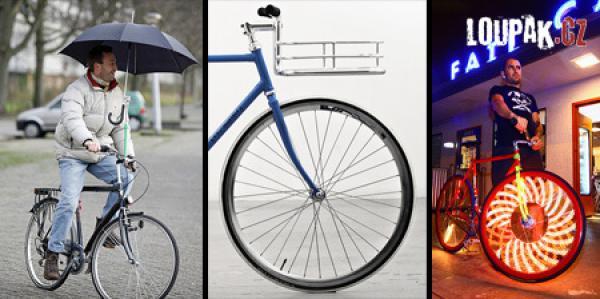 OBRÁZKY - Originální vychytávky pro cyklisty