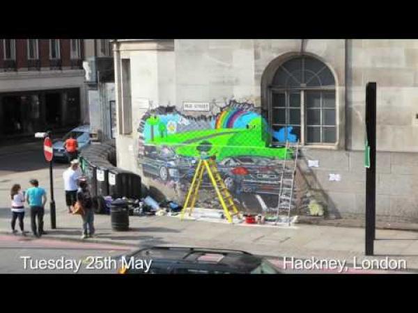 Street Art - Nástěnná malba za 3 dny