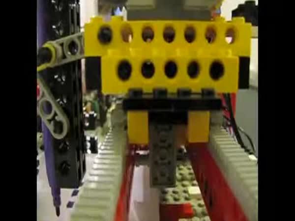 LEGO - Funkční tiskárna