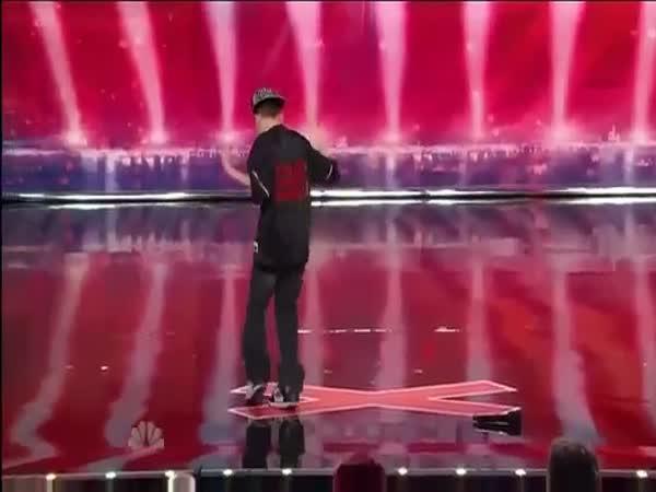 Amerika má talent - 11-ti letý rapper
