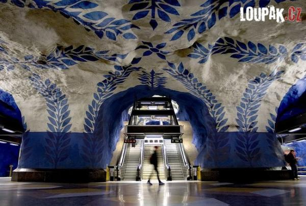 OBRÁZKY - Originální stanice metra