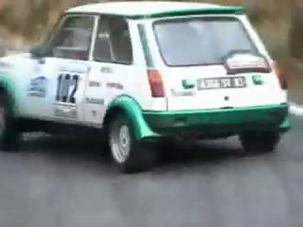 Rally - Renault 5 GT Turbo - nehody