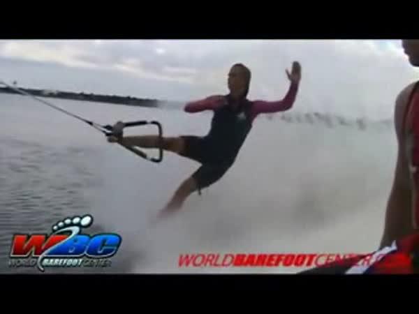 Vodní lyžování - nehody