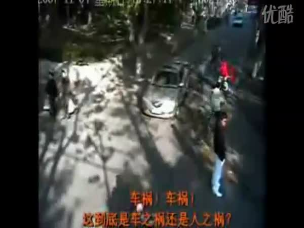 Čína - Nebezpečné křižovatky