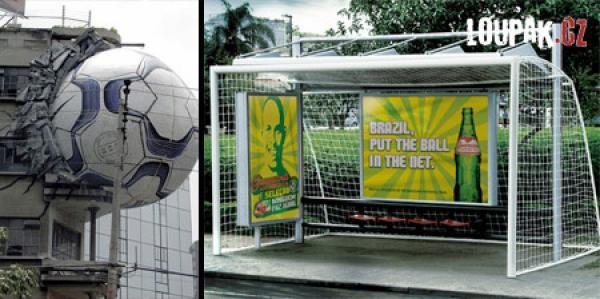 OBRÁZKY - Originální fotbalové reklamy