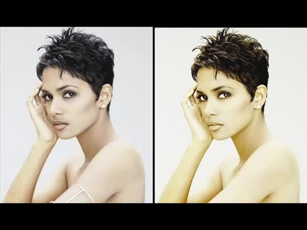 Celebrity a Photoshop