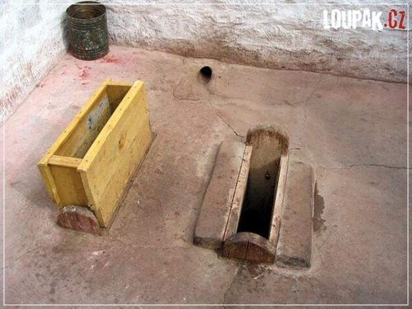 OBRÁZKY - Originální záchody