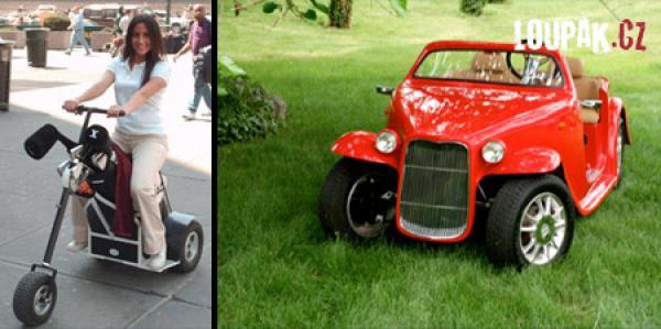 OBRÁZKY - Originální golfové vozíky