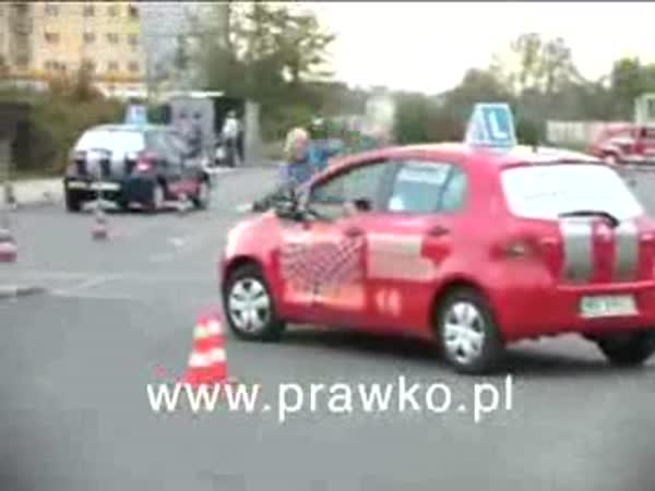 Polsko - Tvrdá autoškola