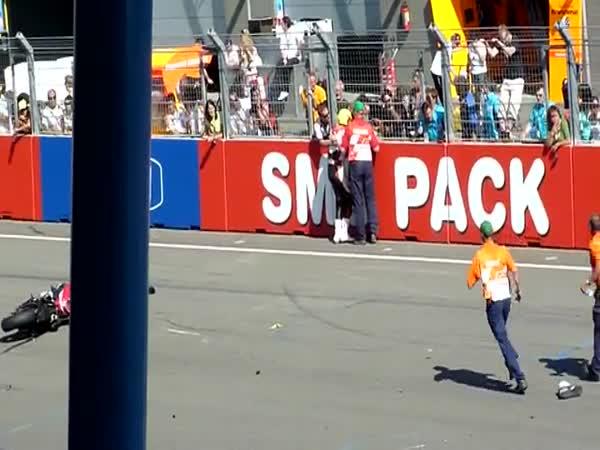 Závody - Tristan Lentink - Nepovedený start