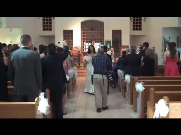 Nepovedené svatební fotky