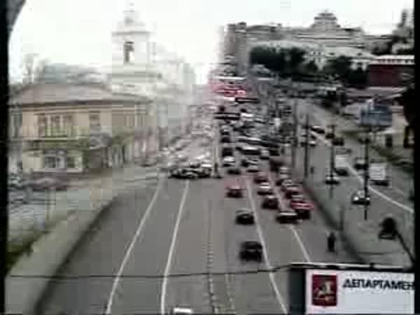 Rusko - Dopravní nehody 2 [kompilace]