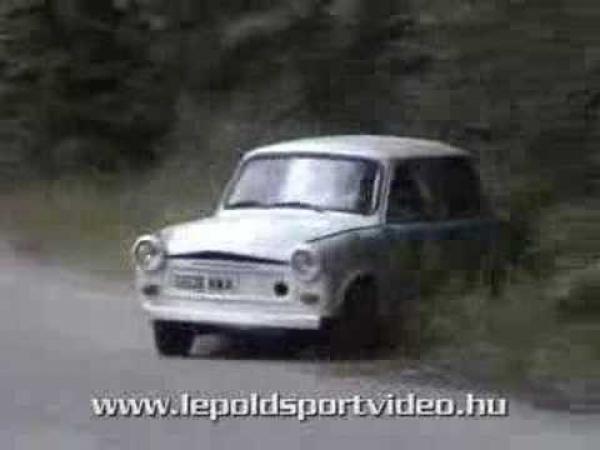 Rally - Trabant v akci [kompilace]