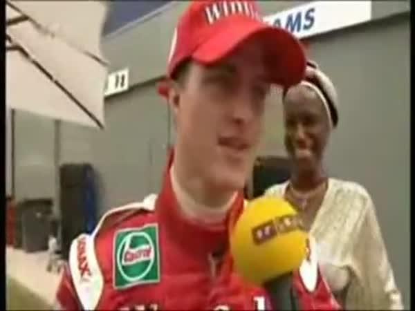 Formule 1 - Kuriozní záběry