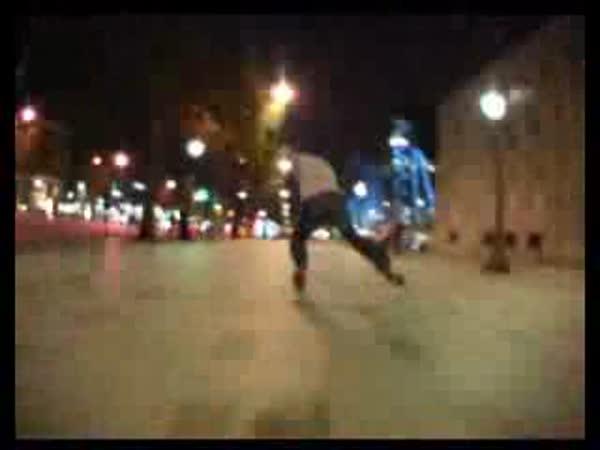 Inline brusle - Úžasná projížďka po Paříži