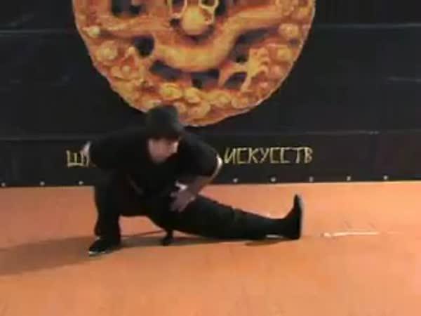 Borec - Kung Fu trénink