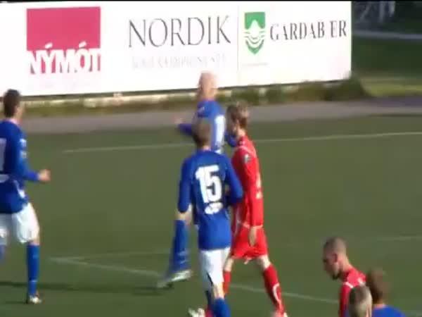 Fotbal - Originální oslava gólu 4.
