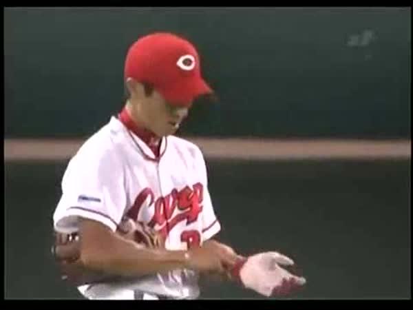 Borec - Baseball - Skvěle chycený míček