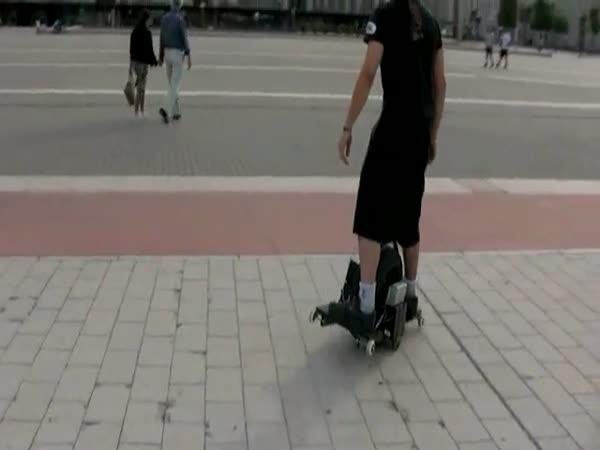 Nový vynález - Skate One